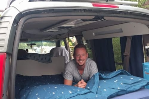 Buscamper Chevrolet LPGcamper Lenny in Rijswijk huren van particulier