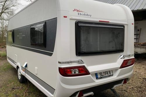 Caravan Hobby Bjarne in Wanderup huren van particulier