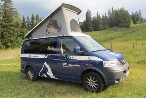 Kampeerbus VW T5 Trappenberg in Worms huren van particulier
