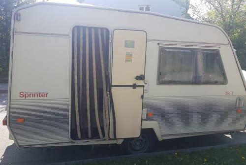 Caravan Beyerland Fridolin in München huren van particulier