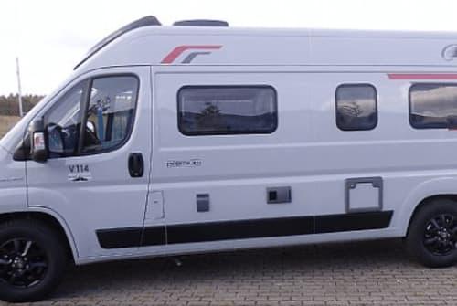 Buscamper Challenger AllgäuChallie in Buchloe huren van particulier