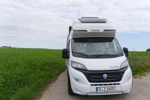 Buscamper Knaus Hollister XL in Lappersdorf huren van particulier