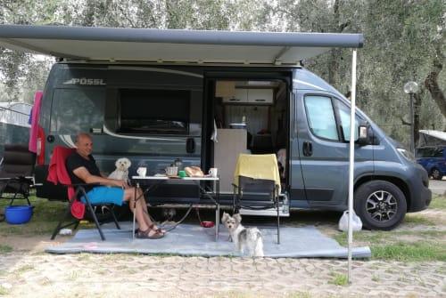 Buscamper Pössl Pössl in Geisingen huren van particulier