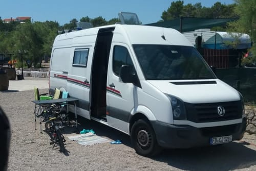 Buscamper VW  Camper in Fulda huren van particulier