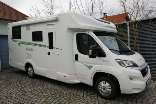 Halfintegraal Euramobil/Foster Schmucki in Zapfendorf huren van particulier