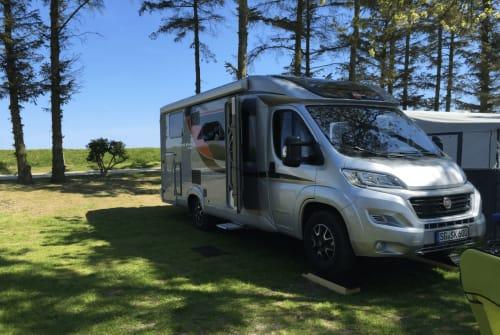 Halfintegraal Bürstner Travel Van  in Solingen huren van particulier