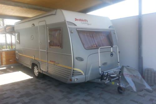 Caravan Dethleffs Dethleffs 450DB in Gänserndorf huren van particulier