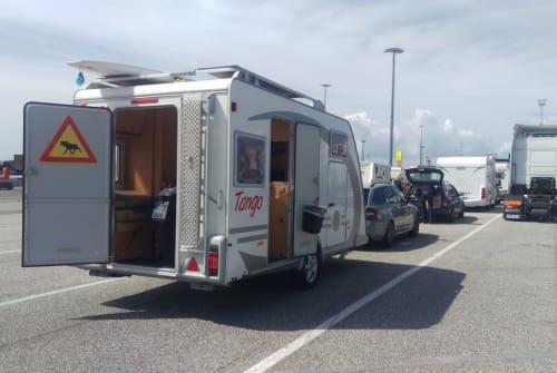 Caravan KNAUS  TANGO in Reutlingen huren van particulier