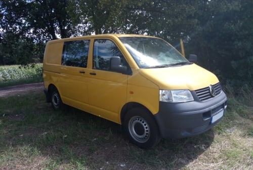 Kampeerbus VW - Bus Helio in Ribnitz-Damgarten huren van particulier