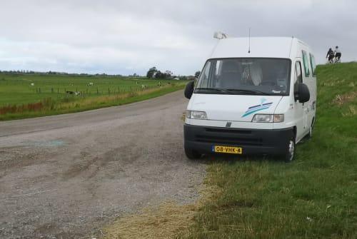 Kampeerbus Fiat ducato Suzi  in Amsterdam huren van particulier