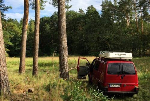 Buscamper VW  T4 Camper in Berlin huren van particulier