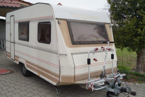 Caravan Dethleffs Nomad in Woringen huren van particulier