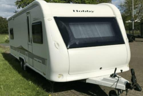 Caravan Hobby Eddi in Bremen huren van particulier