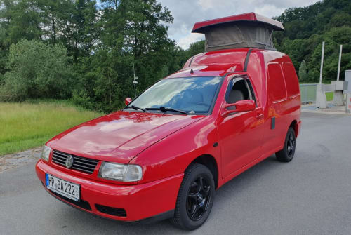Overige VW Caddy Hochdachcamper Luxury Caddy in Reichelsheim huren van particulier