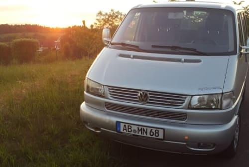 Kampeerbus VW Moby in Aschaffenburg huren van particulier