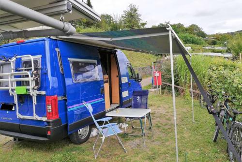 Buscamper Peugeot  Blauer Blitz in Burkardroth huren van particulier
