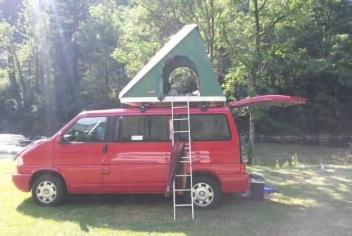 Kampeerbus VW Tante Renate in Waddeweitz huren van particulier