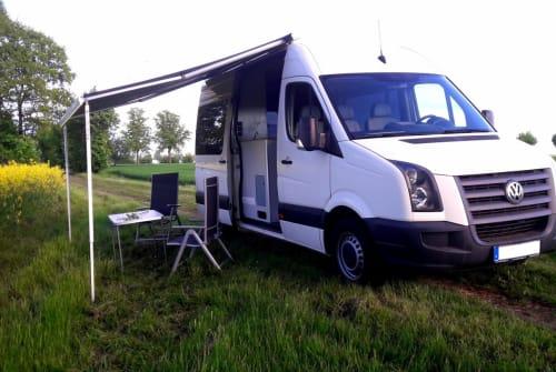Buscamper VW  Buddy in Herzberg (Elster) huren van particulier