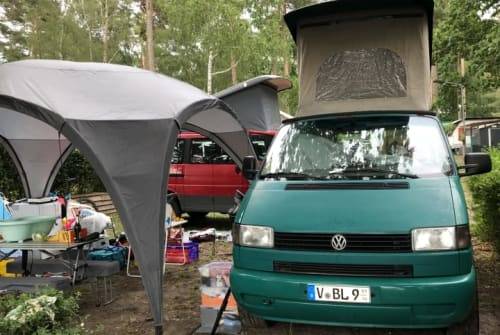Kampeerbus VW Kempie in Zwickau huren van particulier