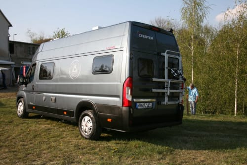Buscamper Fiat Ducato HBN-E1216 in Müglitztal huren van particulier