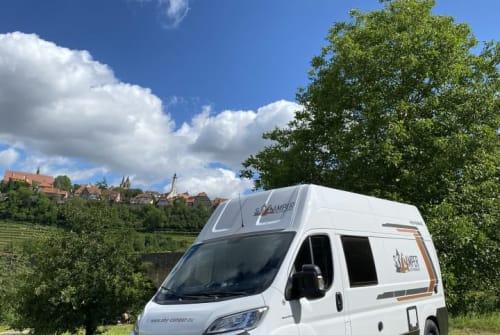 Buscamper Weinsberg  SkyCamper in Rothenburg ob der Tauber huren van particulier