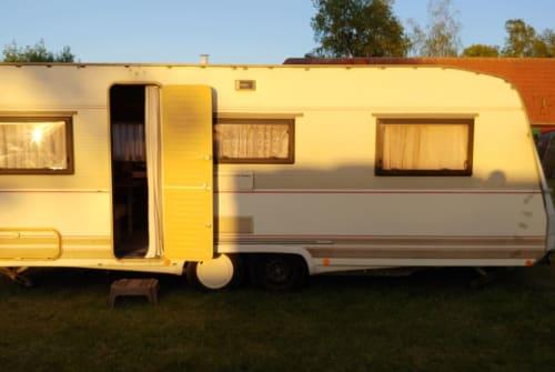 Caravan Dethlefs Villa on Tour in Teltow huren van particulier