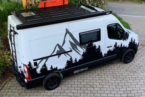 Buscamper Nissan Keno in Bergheim huren van particulier