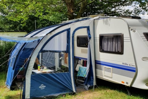 Caravan Hobby Hobby tobby in Göttingen huren van particulier