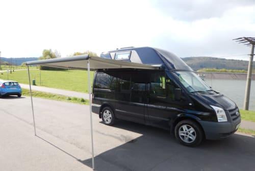 Kampeerbus Ford Kite Nugget in Reichelsheim (Wetterau) huren van particulier