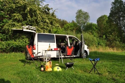 Kampeerbus VW Lolek in Dresden huren van particulier