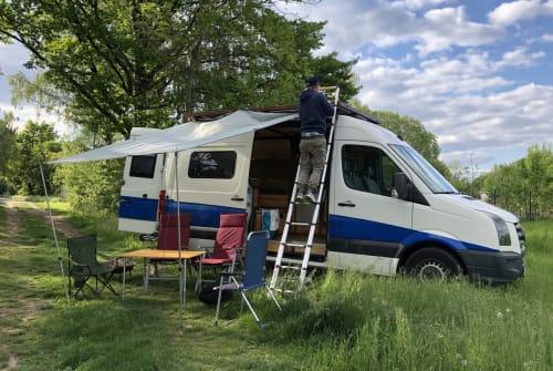 Buscamper VW Pippi in Kassel huren van particulier