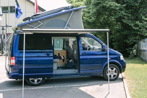 Kampeerbus Volkswagen Cali in Zwickau huren van particulier