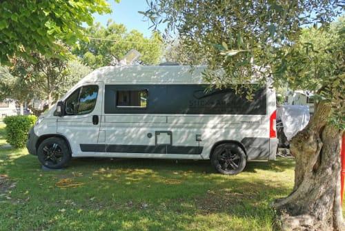 Buscamper Hymercar Jean Jaques in Bad Tölz huren van particulier