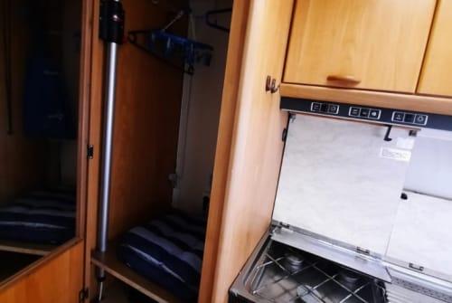 Caravan Hobby  Hobby de luxe  in Torgau huren van particulier