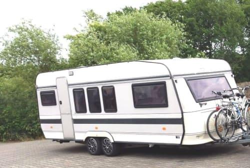 Caravan Hobby Shabby chic New in Hamm huren van particulier