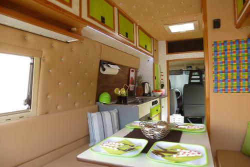 Buscamper Iveco Finn in Radolfzell am Bodensee huren van particulier