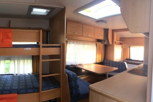 Caravan Knaus Family on Tour in Haldenwang huren van particulier