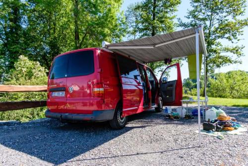 Kampeerbus VW Kalle in Schlieben huren van particulier