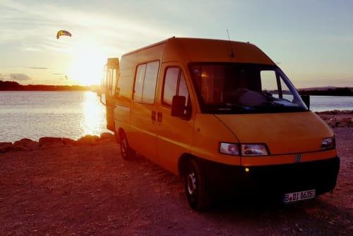 Buscamper Fiat Sunnyboy in Berlin huren van particulier
