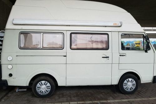 Kampeerbus Volkswagen VW LT 28 in Bremen huren van particulier