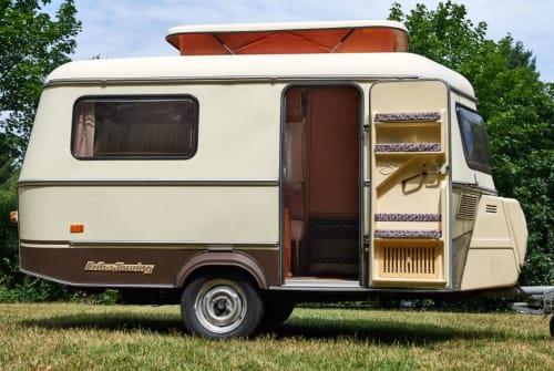 Caravan Hymer Eriba  Eriba Touring in Herdecke huren van particulier