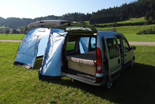 Overige Renault allgäuKangoocamper in Sonthofen huren van particulier