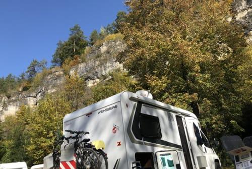 Halfintegraal Weinsberg Weinsi in Niederzier huren van particulier