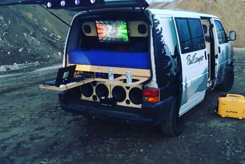 Kampeerbus Volkswagen FestiVan in Wenzlow huren van particulier