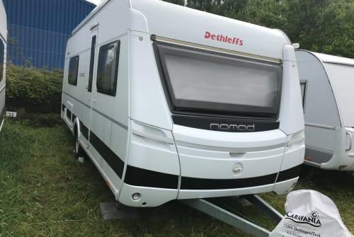 Caravan Dethleffs Unser Familiencaravan in Kirchheim unter Teck huren van particulier