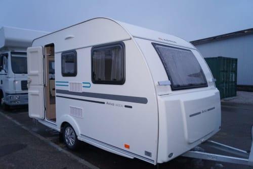 Caravan Adria Rennsemmel neu 2018 in Baltmannsweiler huren van particulier