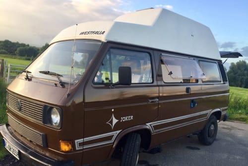 Kampeerbus Volkswagen Jolly in Wedel huren van particulier