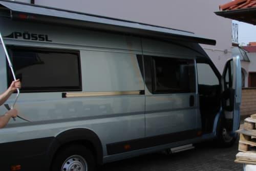 Buscamper Pössl HUGO in Römerberg huren van particulier