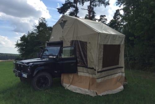 Overige Land Rover Defender TD 5 Capt´n Heavy metal in Münzenberg huren van particulier