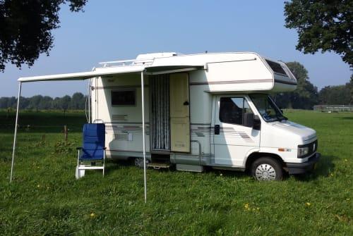 Alkoof Fiat De Camper in Marienvelde huren van particulier